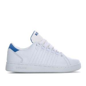 BASKET Baskets K-Swiss Lozan 3 pour garçon en blanc et bl