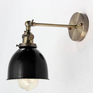 APPLIQUE  E27 Vintage applique industriel métal suspensions