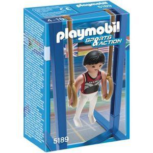 UNIVERS MINIATURE Playmobil Gymnaste Et Anneaux