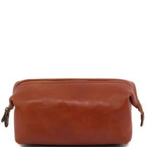 TROUSSE DE TOILETTE  Tuscany Leather - Trousse de toilette en cuir  …