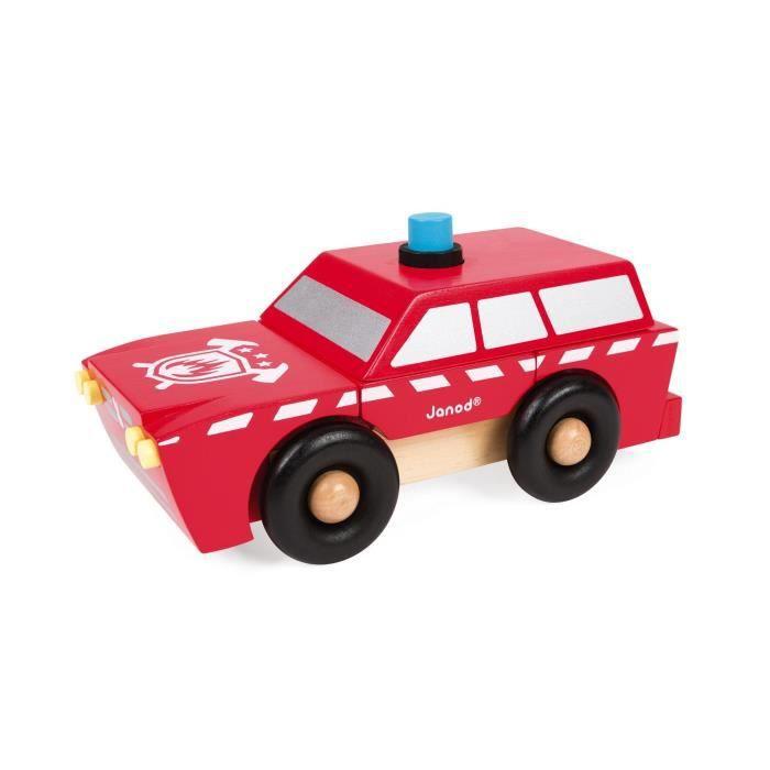 JANOD Kit magnétique SUV Pompiers 9 pièces