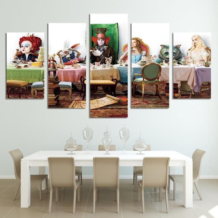 decoration alice au pays des merveilles achat vente pas cher. Black Bedroom Furniture Sets. Home Design Ideas