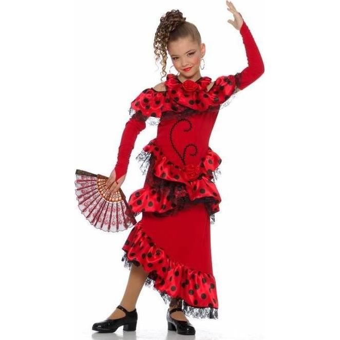 6b5cd728411c6 Déguisement danseuse flamenco filleTAILLE 10/12ANS - Achat / Vente ...
