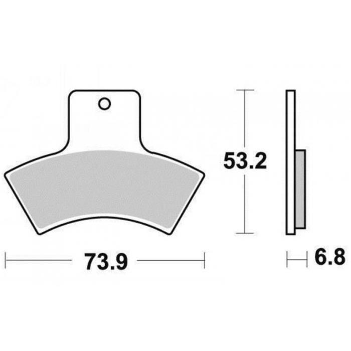 plaquette de frein quad achat vente plaquette de frein. Black Bedroom Furniture Sets. Home Design Ideas