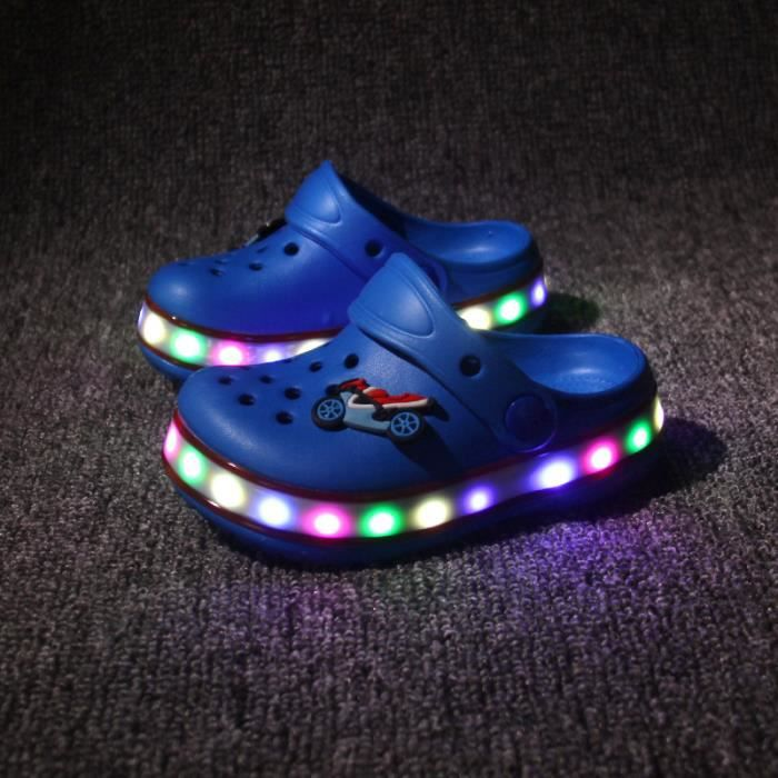 Nouvelle LED s'allume chaussures Chaussures enf...