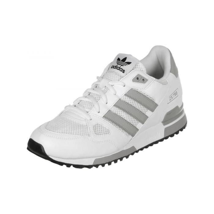 Originals Homme 750 Blanc Gris Baskets Chaussures Adidas Zx Et L4R5Aj