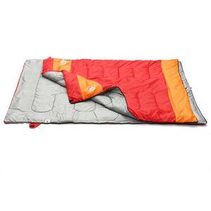 Sac de couchage 2 personnes rouge - Achat / Vente pas cher