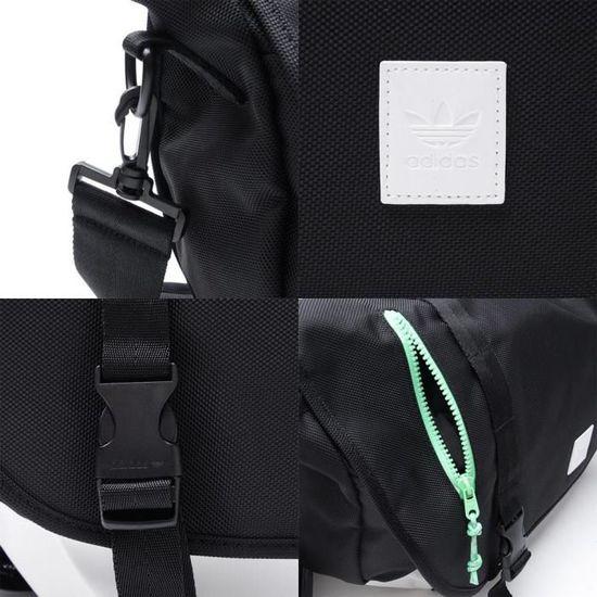 da700bdbf2 Sac Bandoulière Adidas Originals Tokyo Noir noir - Achat / Vente besace -  sac reporter 3662891041189 - Cdiscount