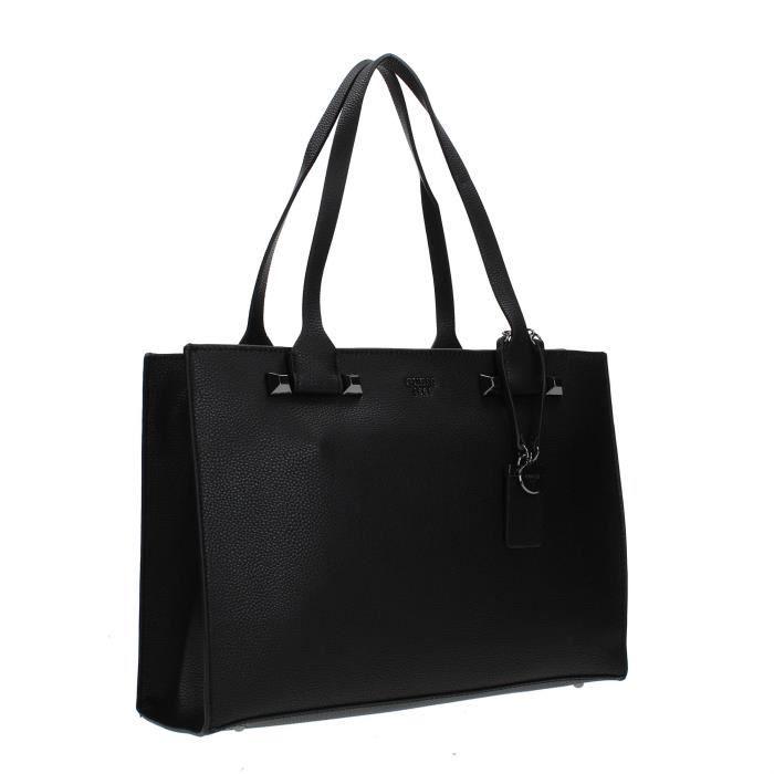 Guess Sac Shopper Femme BLACK, TU
