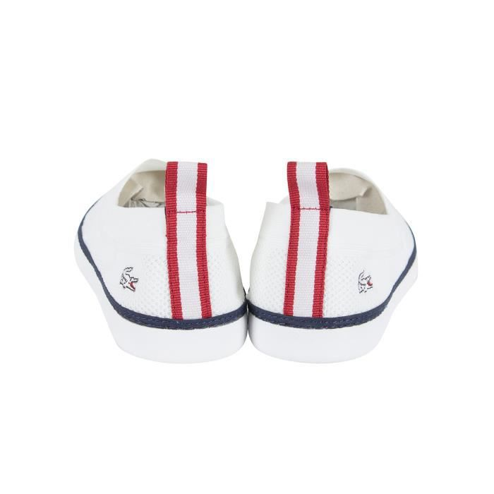 Lacoste Homme Lydro 117 1 CAM Slip-on Formateurs, Blanc