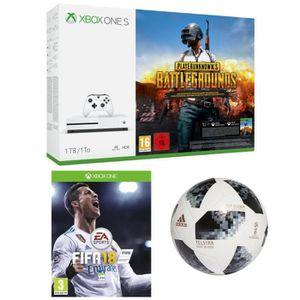 CONSOLE XBOX ONE Pack Fifa 18 + ballon officiel