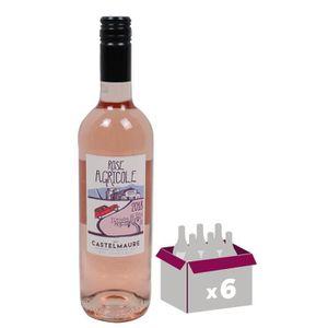 VIN ROSÉ Rose Agricole 2018 Corbières - Vin rouge du Langue
