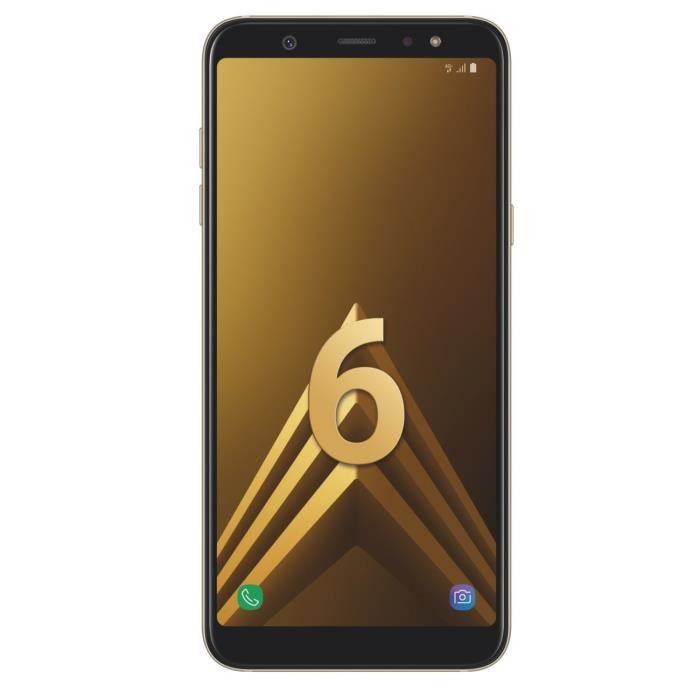 SMARTPHONE Samsung Galaxy A6+ Or