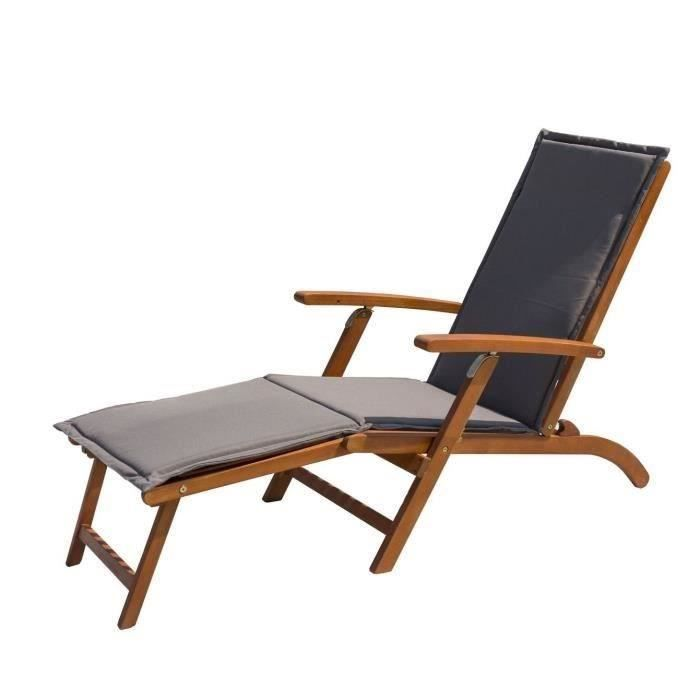 Chaise Longue Confortable De Jardin