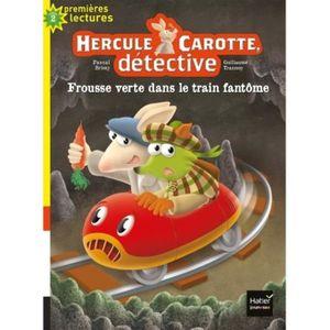 Livre 6-9 ANS Hercule Carotte, détective Tome 8 : Frousse verte