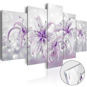 PARAVENT Tableau sur verre acrylique  |  Purple Graces [Gla