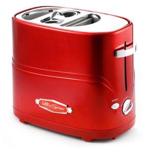 MACHINE À PAIN CENBLUE - Machine à pain Grille - pain à hot-dog -