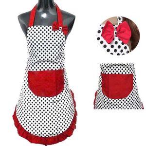 tablier de cuisine femme achat vente tablier de cuisine femme pas cher soldes d s le 10. Black Bedroom Furniture Sets. Home Design Ideas