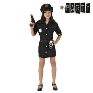 SOMMIER Déguisement pour fille police - costume Taille - 1