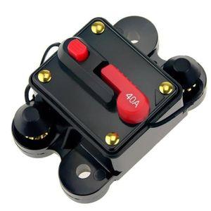 COUPE BATTERIE Porte-fusible audio pour voiture interrupteur d'al