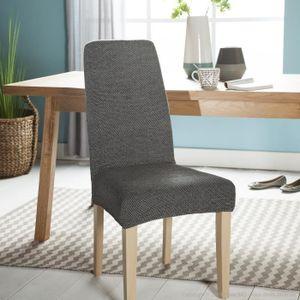 housse de chaise extensible achat vente housse de. Black Bedroom Furniture Sets. Home Design Ideas