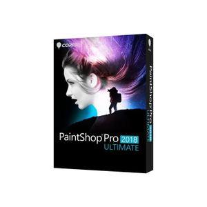 MULTIMÉDIA Corel PaintShop Pro 2018 Ultimate Ensemble de boît