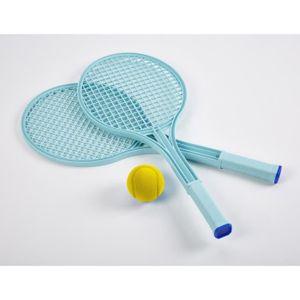 JEU D'ADRESSE ECOIFFIER Tennis play - 2 Raquettes + Balle en mou