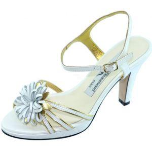 2b4eeb36876cfb SANDALE - NU-PIEDS BOTRYCHE Sandale à Fleur plateforme et talon chaus ...