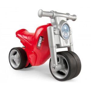 PORTEUR - POUSSEUR SMOBY Porteur Moto Rouge