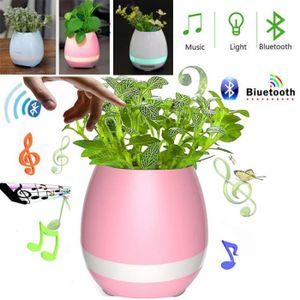 VASE - SOLIFLORE Musique Pot de fleurs jouer du piano Flowerpot Nig