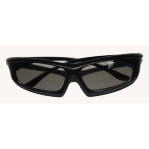 LUNETTES 3D 1 Pair of Black Adults Passive 3D Glasses in Easy