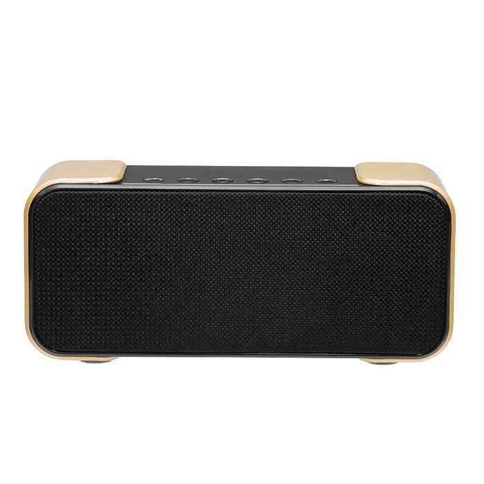 Sans Fil Bluetooth 4.2 Haut-parleur Portable Caisson De Graves Haut-parleurs Stéréo Super Bass Ys132
