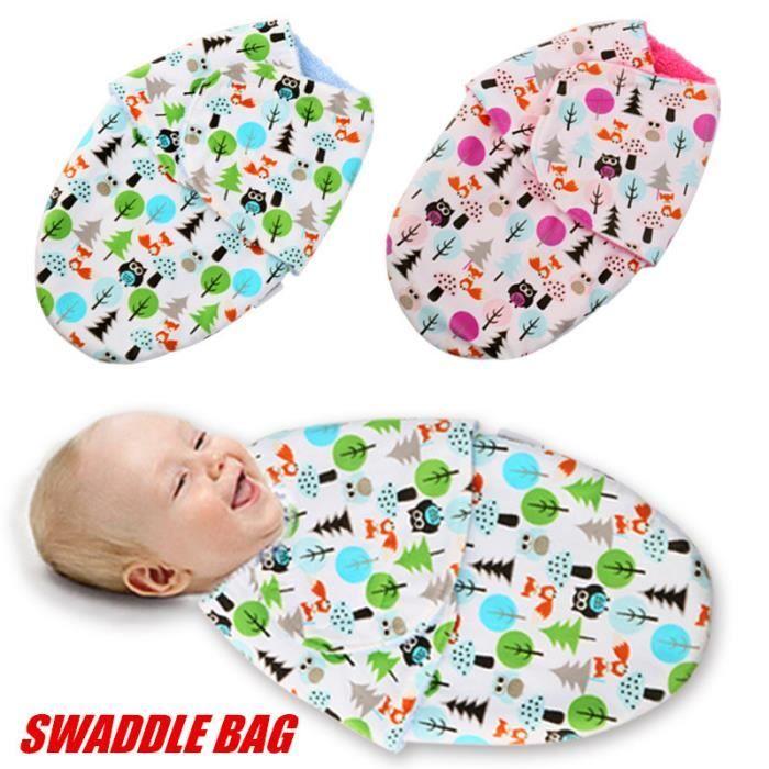 couverture d emmaillotage pour bébé JUST CUTE Couverture d'Emmaillotage bois de rose   Achat / Vente  couverture d emmaillotage pour bébé