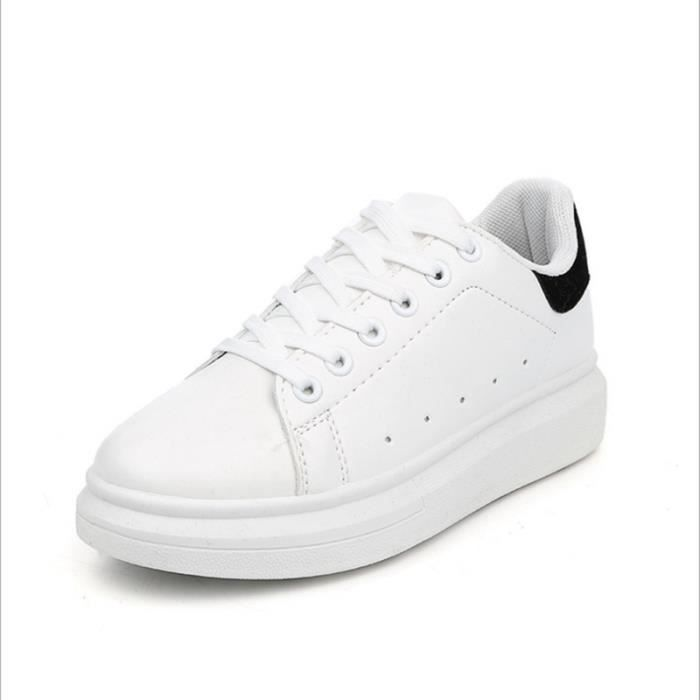 687f340a3ea21 Femmes Appartements Chaussures Chaussures De Sport Superstar ...