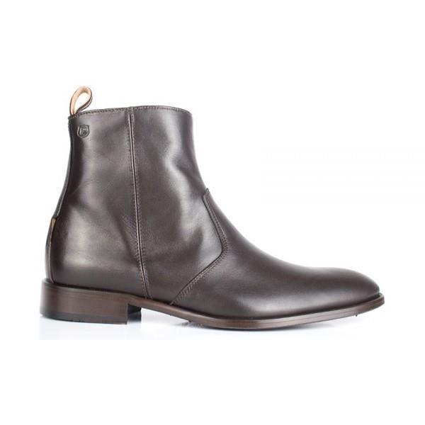 Boots Peter Blade Cuir Marron BRIAN - Couleur - Marron
