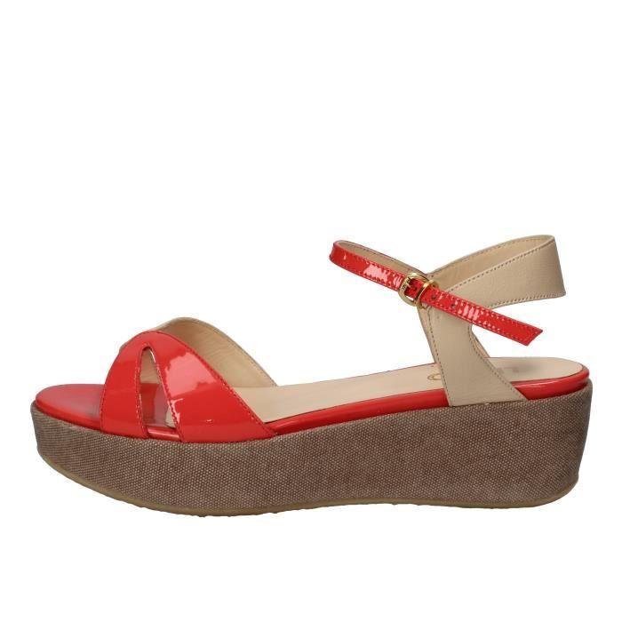 ae4cb2901f5 LIU JO Chaussures Femme Sandale Corail AH774 Marron Corail - Achat ...