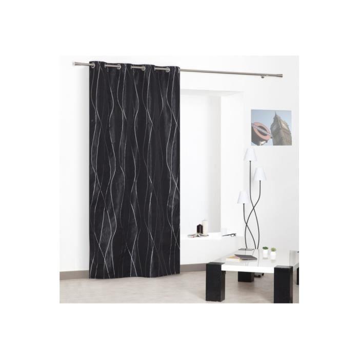 rideaux noir et argent 28 images rideau occultant noir volutes rideaux moondream rideau. Black Bedroom Furniture Sets. Home Design Ideas