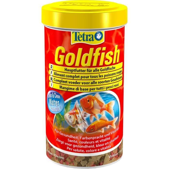Tetra Aliment Complet Goldfish - Pour Poissons Rouges 500 Ml