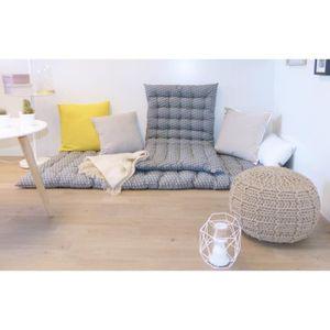 matelas de sol coton achat vente matelas de sol coton pas cher cdiscount. Black Bedroom Furniture Sets. Home Design Ideas
