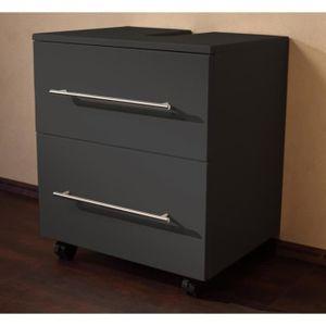 meuble sous lavabo avec tiroir achat vente meuble sous lavabo avec tiroir pas cher soldes. Black Bedroom Furniture Sets. Home Design Ideas