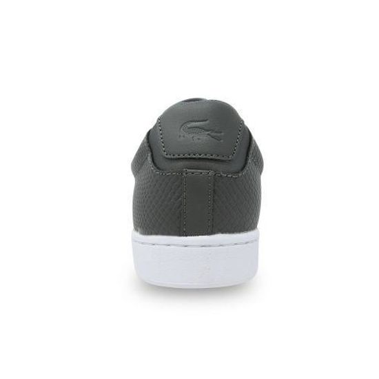 0866e66a55 LACOSTE - Chaussure homme Lacoste Carnaby Evo 417 GRISE - (Gris anthracite  - 47) Gris anthracite - Achat / Vente basket - Cdiscount