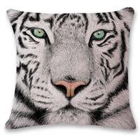 Coussin tigre en housse ™