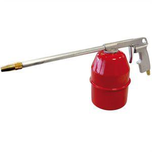 AUTOBEST Pistolet Pneumatique Pulvérisateur Avec Reservoir 1 L