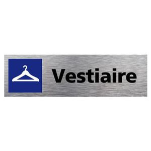 MEUBLE D'ENTRÉE Plaque de porte Vestiaire Dimensions 170 x 50 mm -