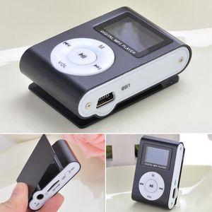 LECTEUR MP3 Mini lecteur MP3 clip USB Radio FM Support écran L