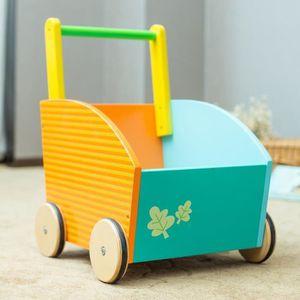 COFFRE À JOUETS Labebe -Premiers pas de bebe -Jouets chariot d'act