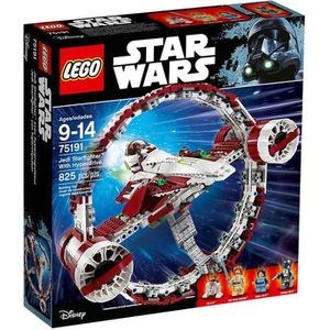 ASSEMBLAGE CONSTRUCTION LEGO® Star Wars™ 75191 Jedi Starfighter™ avec hype