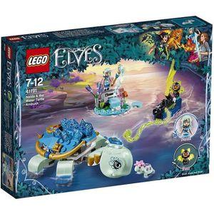 ASSEMBLAGE CONSTRUCTION LEGO® Elves 41191 Naida et le piège de la tortue d
