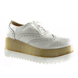 d1f6f4af3 Chaussures richelieu femme talon - Achat / Vente pas cher