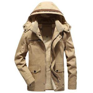 BLOUSON Veste blouson homme hiver cuir épais teddy lacet c f3cc8ba0c1e